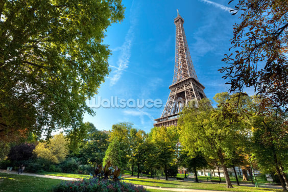 Tour Eiffel Wallpaper Wall Murals