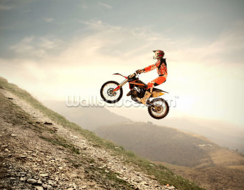 Motocross Wallpaper Wall Murals