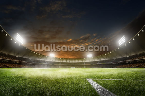 NFL Stadium Lights Wallpaper Wall Murals