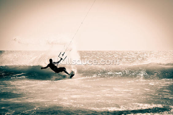 Kitesurfing in Andalusia, Spain Wallpaper Wall Murals