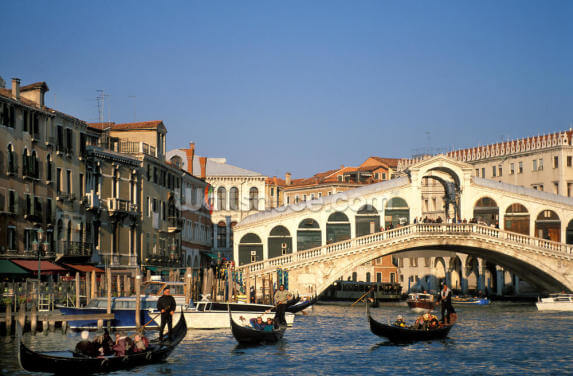 Venice Rialto Bridge Wallpaper Wall Murals