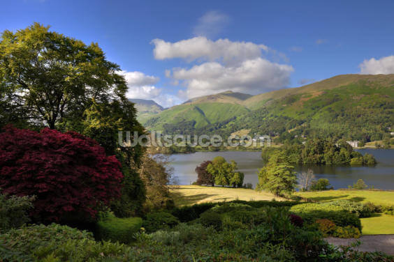 Lake Grasmere Wallpaper Wall Murals