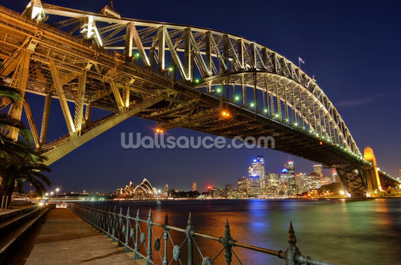 Sydney Harbour Bridge Wallpaper Wall Murals