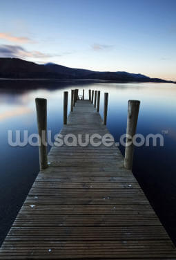Evening Light on Ashness Pier Wallpaper Wall Murals