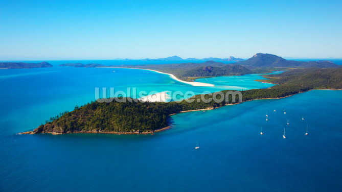 Whitsunday Islands Wallpaper Wall Murals