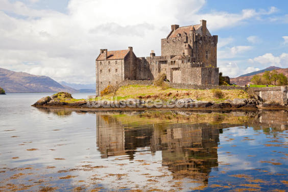 Eilean Donan Castle Scotland Wallpaper Wall Murals