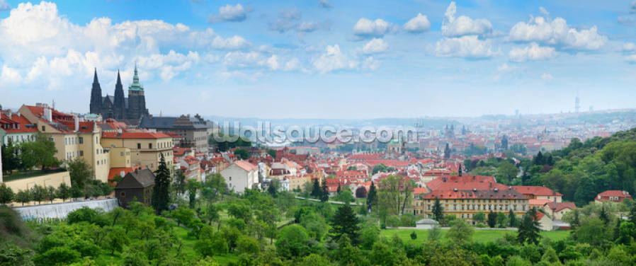 Prague Old Town Skyline Wallpaper Wall Murals