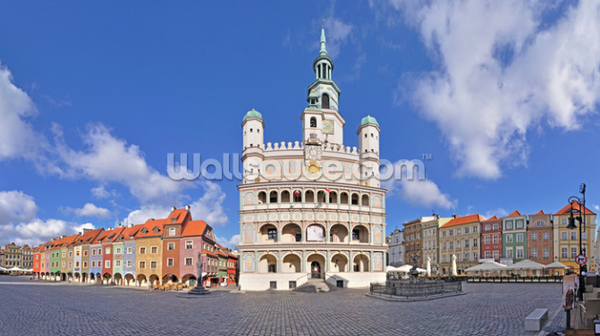 Poznan Wallpaper Wall Murals