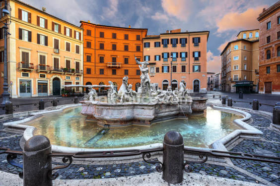 Piazza Navona, Rome Wallpaper Wall Murals