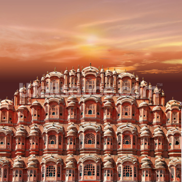 Palace of the Winds, Jaipur Wallpaper Wall Murals
