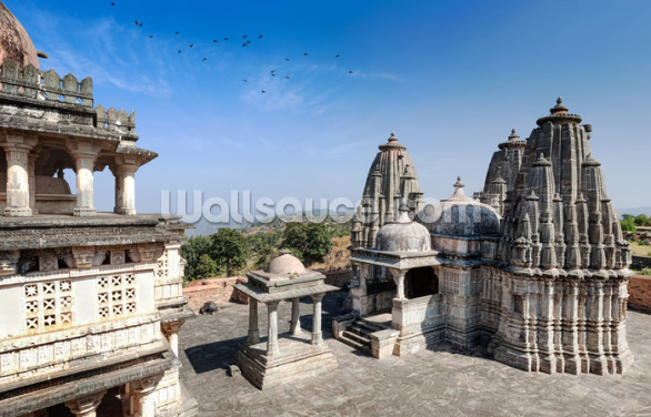 Kumbhalgarh Fort, Rajasthan Wallpaper Wall Murals