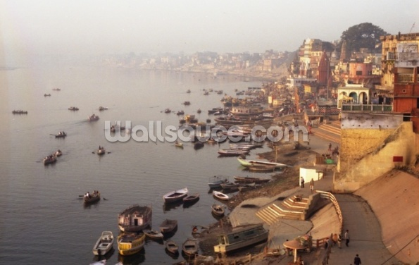 Varanasi, India Wallpaper Wall Murals
