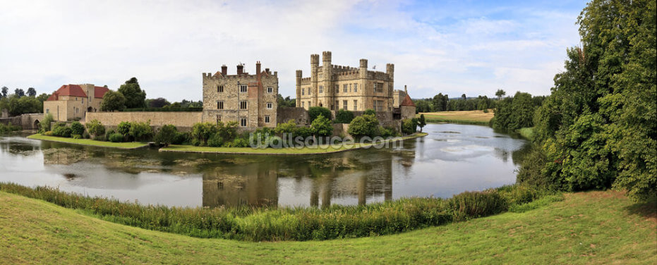 Leeds Castle Panorama Wallpaper Wall Murals