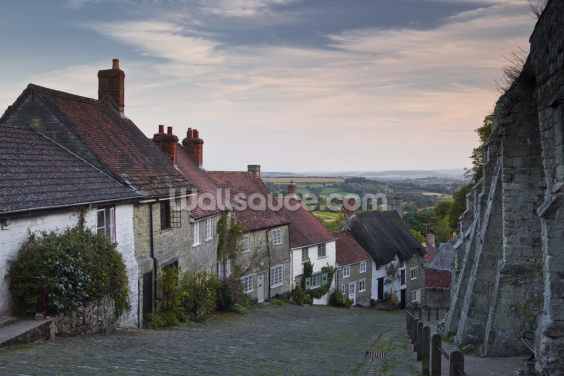Gold Hill Shaftesbury Wallpaper Wall Murals