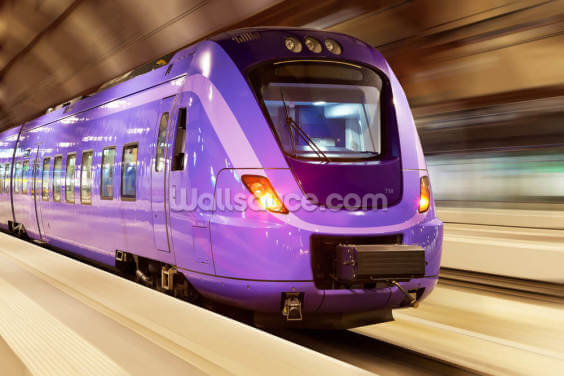 High Speed Train Wallpaper Wall Murals