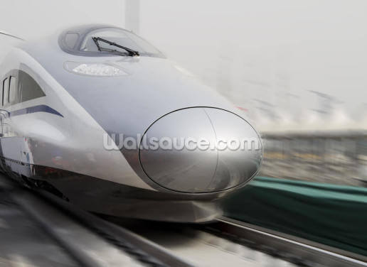 Bullet Trains Wallpaper Wall Murals