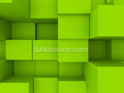 3D Cubes Wallpaper Wall Murals