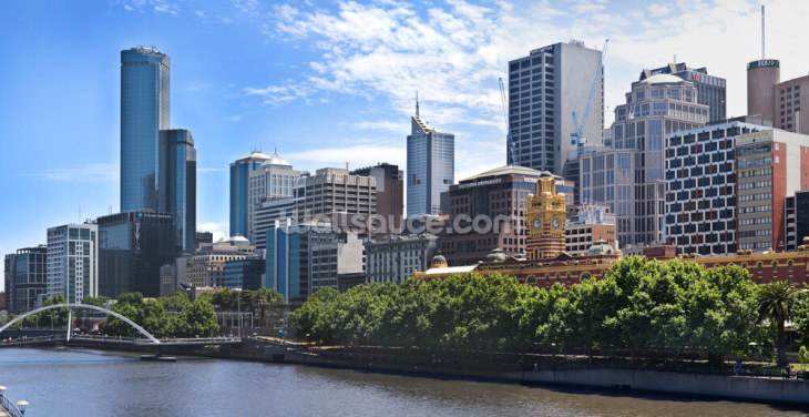 Melbourne Wallpaper Wall Murals