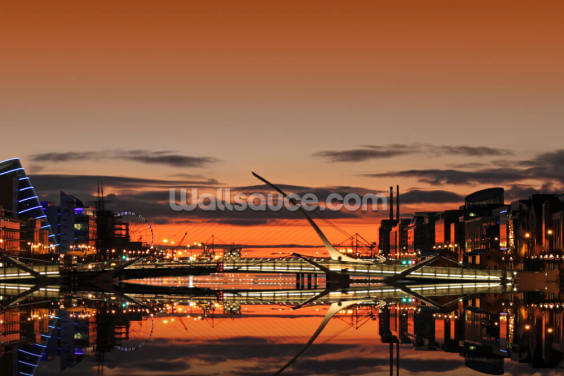 Liffey Sunrise Wallpaper Wall Murals