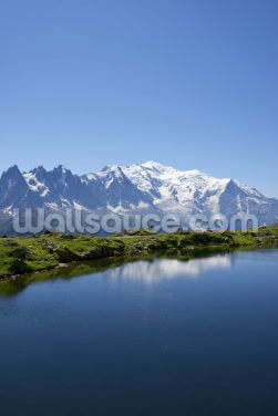 Mont Blanc Wallpaper Wall Murals