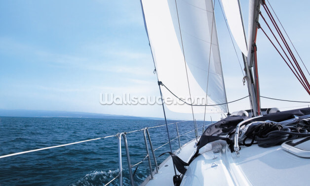 Yacht Wallpaper Wall Murals