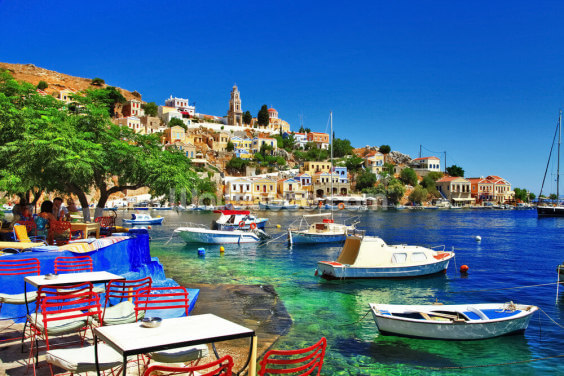 Symi Island, Greece Wallpaper Wall Murals