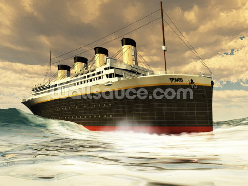 Titanic Wallpaper Wall Murals