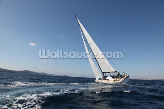 Sailing on the Adriatic Sea Wallpaper Wall Murals