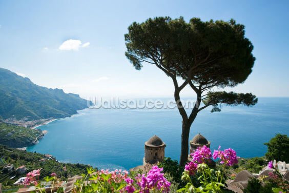 Amalfi Coast Wallpaper Wall Murals