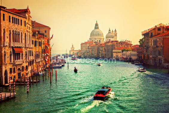 Venice Sunset Wallpaper Wall Murals
