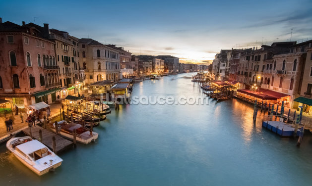 The Grand Canal from Rialto Wallpaper Wall Murals