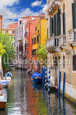 Venetian Houses Wallpaper Wall Murals