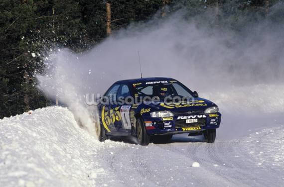 """If In Doubt, Flat Out"" Colin McRae Wallpaper Wall Murals"