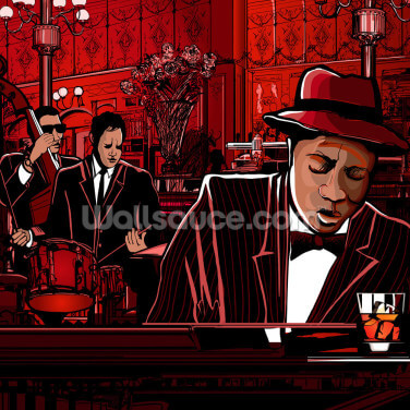 Jazz Piano Wallpaper Wall Murals