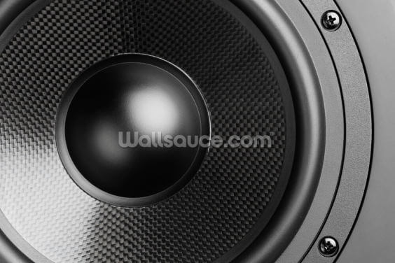 Loudspeaker Wallpaper Wall Murals