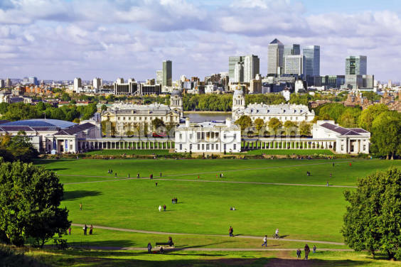 Greenwich and Canary Wharf Wallpaper Wall Murals