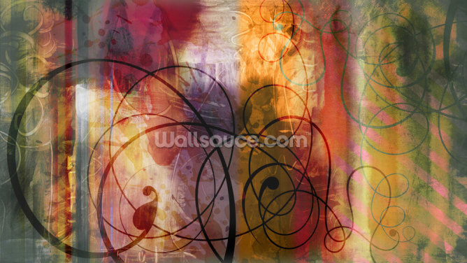 Floral Designer Wallpaper Wall Murals
