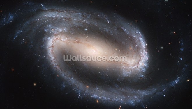 Barred Spiral Galaxy NGC 1300 Wallpaper Wall Murals