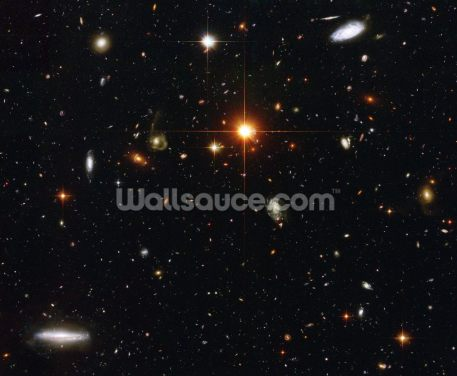A Zoo of Galaxies Wallpaper Wall Murals