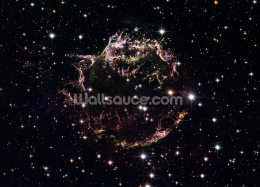 Supernova Remnant Cassiopeia A - December 2004 Wallpaper Wall Murals