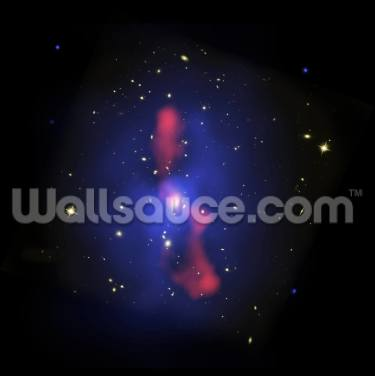 Galaxy Cluster MS 0735 Wallpaper Wall Murals
