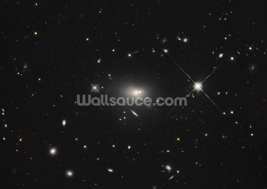 A Multi-Wavelength View of Radio Galaxy Hercules A Wallpaper Wall Murals