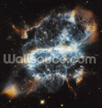 A Cosmic Holiday Ornament, Hubble-Style Wallpaper Wall Murals