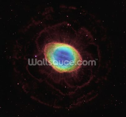 NASA's Hubble Space Telescope Reveals the Ring Nebula's True Shape Wallpaper Wall Murals