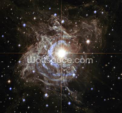 Cepheid Variable Star RS Puppis Wallpaper Wall Murals