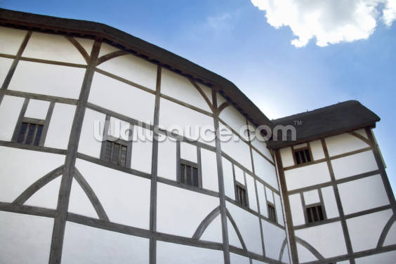 The Globe Theatre Wallpaper Wall Murals
