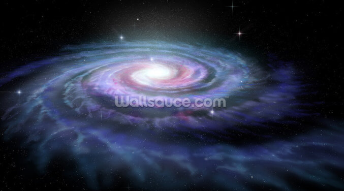 Spiral Galaxy Milky Way Wallpaper Wall Murals