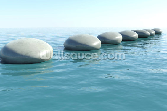 Zen Rock Pool Wallpaper Wall Murals