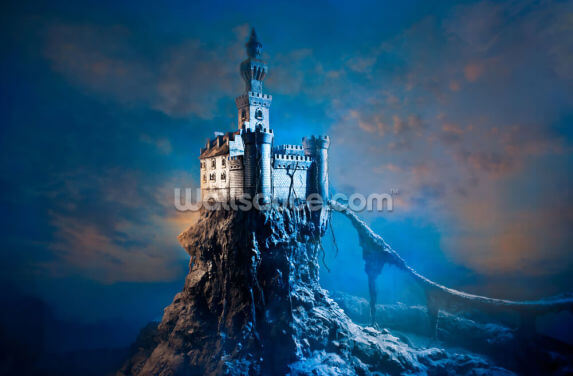 Mysterious Castle Wallpaper Wall Murals