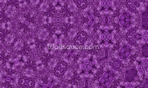 Center Of Mobius Purple Wallpaper Wall Murals